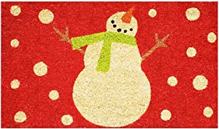Home & More 121041729R Holiday Snowman Doormat