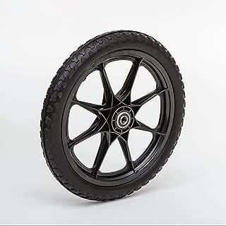 Lapp Wheels Flat Free Plastic Spoke Wheel, Lawnmower/Garden cart/Pony Wagon Replacement, Diameter/Tread/Hub/Bearing Options