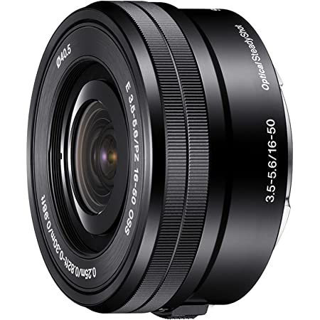 Sony SELP1650 16-50mm Power Zoom Lens (Certified Refurbished)
