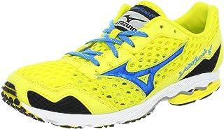 Mizuno Women's Wave Ronin 5 Running Shoe,Blazing Yellow/Diva