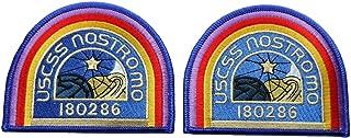 Patch Squad Men's ALIEN Movie U.S.C.S.S. Nostromo Crew Shoulder patches