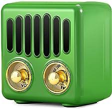 Vintage Radio, Retro Bluetooth Speaker, Greadio FM Radio with Bluetooth 4.2, Old Fashioned Classic Style, Good Bass Enhanc...