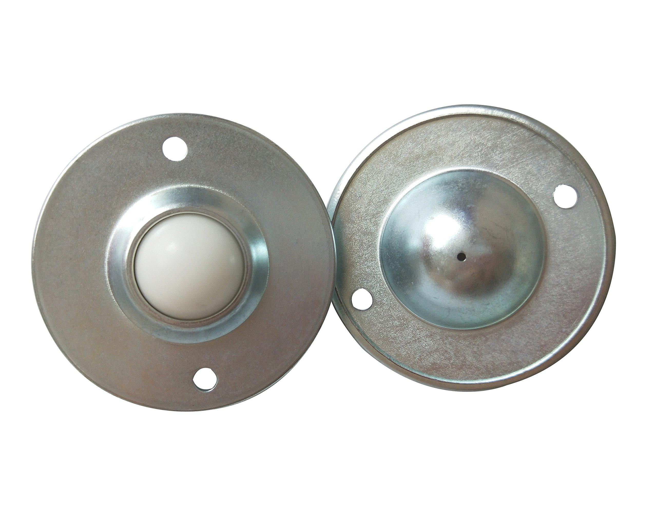 Set of 4pcs 1 Nylon Ball Transfer Bearing Unit Table Conveyor Roller Ball for Transmission Wheelchair Furniture