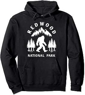 Redwood National Park Hoodie, California Bigfoot Apparel