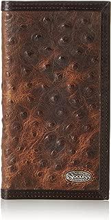 M&F Western Mens Nocona Vintage Ostrich Rodeo Wallet
