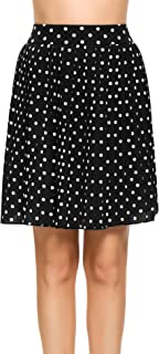 Best polka dot chiffon skirt Reviews
