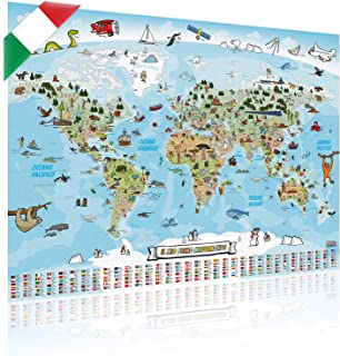 Cartina Italia Amazon.Amazon It Cartina Italia