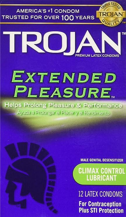 Pleasure condoms extended review trojan Premature Ejaculation