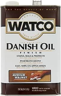 Watco 242222 Medium Walnut Danish, 1 Gallon, Oil Finish