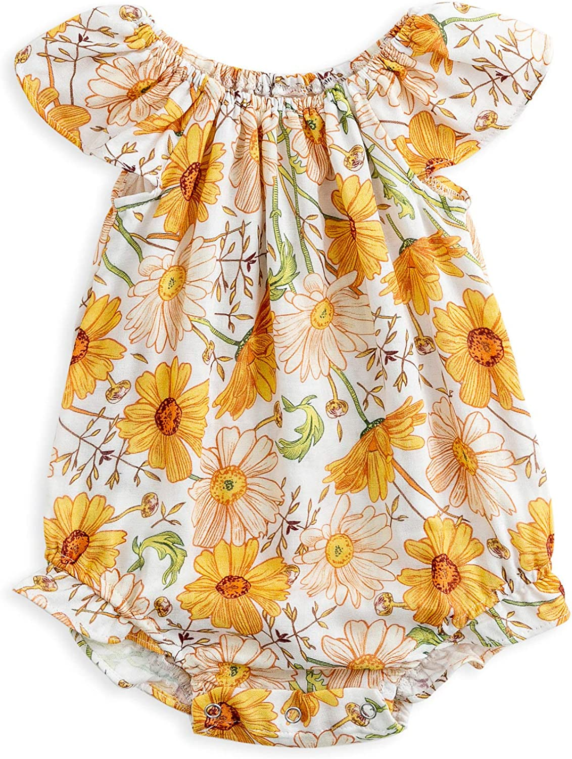 Baby Al sold out. Girls Summer Romper Cotton Newborn Floral Infant Onesies Indianapolis Mall Ru