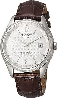Tissot T108.408.16.037.00 Ballade Powermatic 80 COSC Men's Watch Brown 41mm Stainless Steel