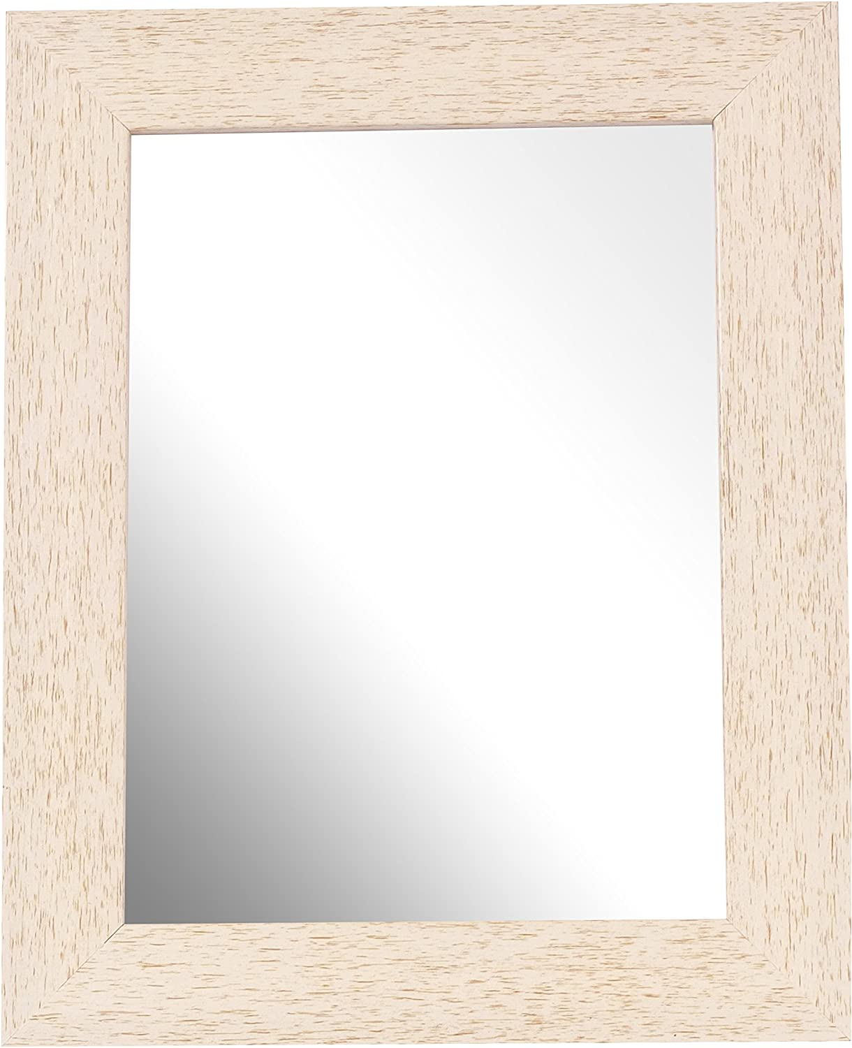 Inov8 British Made 10x8-inch Traditional Mirror, Pack of 2, Scoop Silver