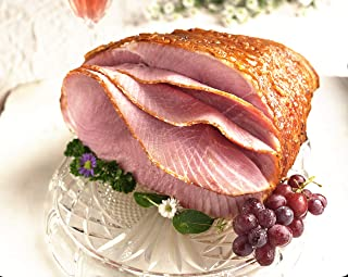 Honey Glazed Holiday Ham. 7.5 - 8.5 pounds. Serves 12 - 14. ORDERS PLACED TODAY WILL BE DELIVERED BY THURSDAY 4/9 or Friday 4/10 IN TIME FOR EASTER GUARANTEED