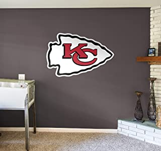 Fathead NFL Kansas City Chiefs Kansas City Chiefs: Logo - Giant Officially Licensed NFL Removable Wall Decal - 14-14018