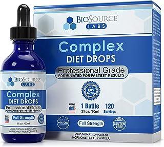 BioSource Labs Complex Diet Drops – Best Natural Weight Management Drops for Men and Women (1 x 2-Ounce Bottle)
