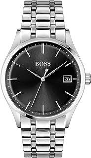 Hugo Boss Men's Analog Quartz Watch with Stainless Steel Strap 1513833