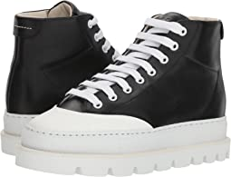 Cap Toe Platform High Top