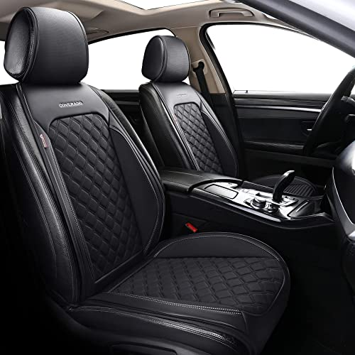 2021 Coverado Front Seat Covers, Waterproof Leatheratte Car Seat Protector 2 Pieces, Protective Seat Cushions Universal lowest Fit Most Vehicles, Sedans, SUVs, Trucks and online Vans, Diamond Pattern sale