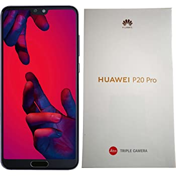 Huawei P20 Pro 128GB Single-SIM (GSM Only, No CDMA) Factory Unlocked 4G/LTE Smartphone (Twilight Purple) - International Version