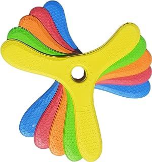 5 Kiwi Miniboom Foam Boomerangs - Safe Kids Boomerang for Sale for Light to NO Wind Throwing!