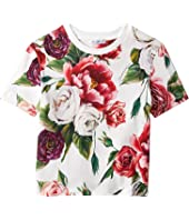 Dolce & Gabbana Kids - Peonie T-Shirt (Toddler/Little Kids)