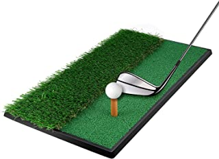 OUTAD Golf Putting Mat Indoor Golf Training Mat Putting Green System Professional Golf Practice Mat Green Long Challenging Putter