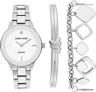 Anne Klein - Reloj de vestir (modelo: AK/3348WTST)