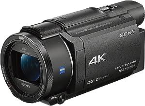 Sony FDRAX53/B 4K HD Video Recording Camcorder (Black) (Renewed)
