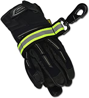 firefighter glove strap leather
