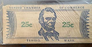 tenino washington wooden money