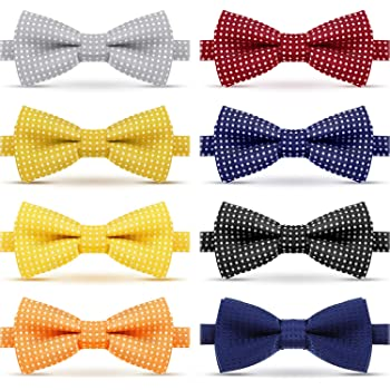 Toddler Boys Swirl Pattern Pre Tied Bow Ties Ages 2-12 recommended Several Colors