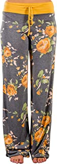 Angashion Women's High Waist Casual Floral Print...