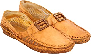 AAUTHORITY Mens Flat Sandle with Rectangle Button