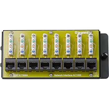 Intellinet 560269 CAT-6 Patch Panel 12 Port UTP Wall-Mountable Electronics Computers Accessories