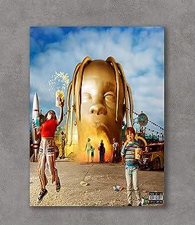 0d9c20b38f46 Kai'Sa Travis Scott: ASTROWORLD Music 2018 Poster Art Print Posters,18'