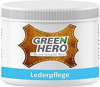 Green Hero Green Hero Lederpflege, 500 ml, Balsam mit Bienenwachs zur Pflege und Imprägnierung von Leder, Lederbalsam, Auto, Schuhe, Couch, Taschen und Möbel