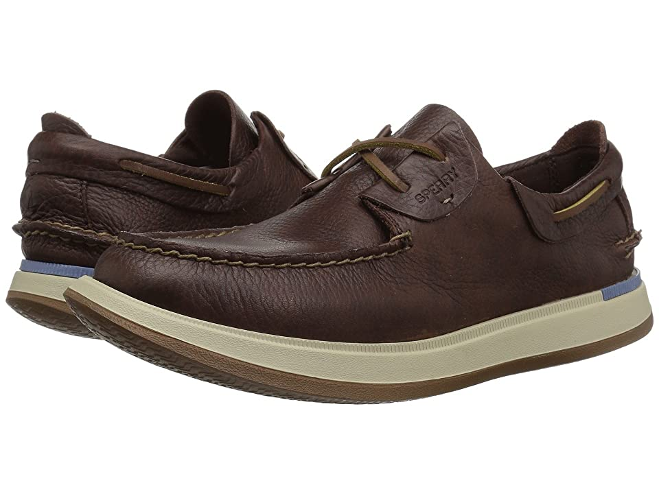 Sperry Caspian Boat Leather (Cocoa) Men
