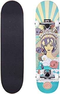 Cal 7 Complete Skateboard, 7.75, 8.0 Inch