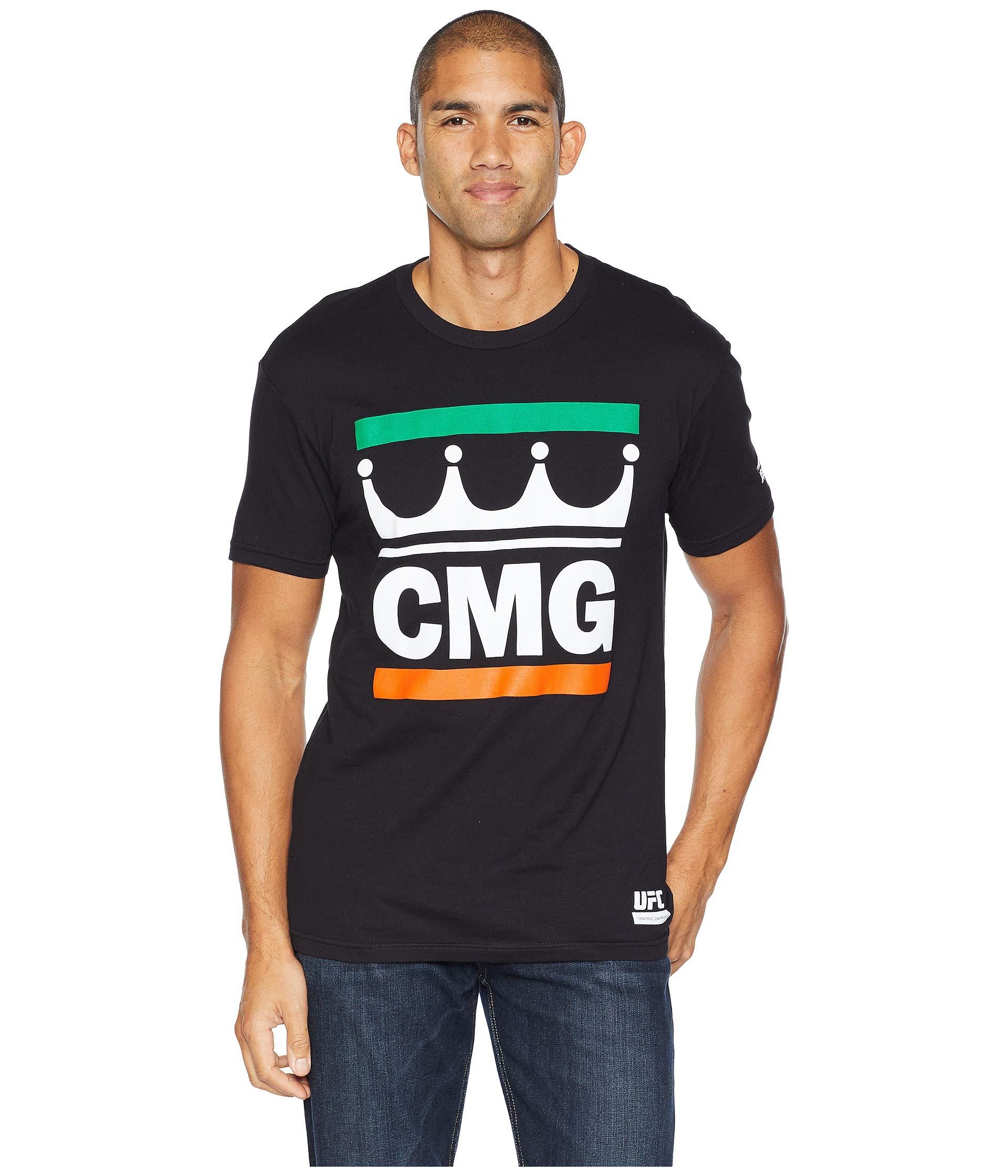 Short Cmg Mcgregor King Sleeve Reebok Crew Black Oq6wCCtn