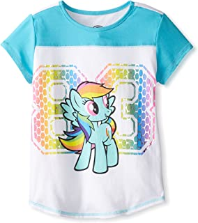 Rainbow Dash '83 Camisa de Color Blanco y Turquesa