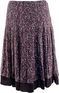 51ecd34731 Gianni Bini Women's Pleated Floral Silk Molly Skirt
