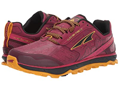 Altra Footwear Lone Peak 4 Low RSM (Beet Red) Women