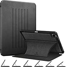 """Fintie Magnetic Stand Case for iPad Pro 11-inch (3rd Generation) 2021 - Multiple Angles Shockproof Soft TPU Cover w/Pencil Holder, Also Fit iPad Pro 11"""" 2nd Gen 2020 / 1st Gen 2018, Black"""
