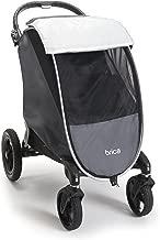 Munchkin Brica Shield Stroller Cover, Helps Block UVA/UVB Rays, Grey
