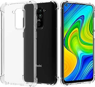 Migeec Funda para Xiaomi Redmi Note 9 Suave TPU Gel Carcasa Anti-Choques Anti-Arañazos Protección a Bordes y Cámara Premiu...