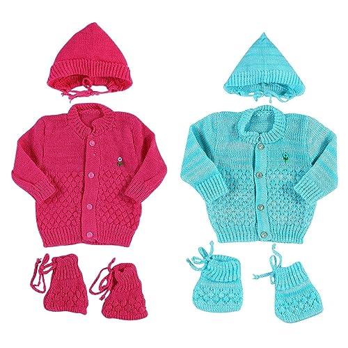 b15c8744c13d Montu Bunty Wear Unisex Regular Fit Clothing Set (Pack of 2) (OG3-