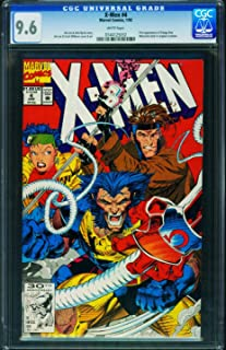 X-Men #4 1991- CGC Graded 9.6 White Pages- 1st Omega Red - 0144125032