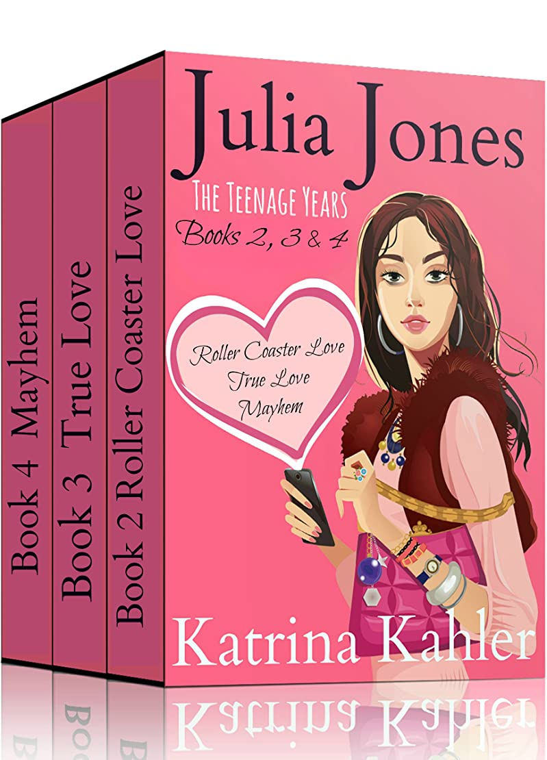 見落とす海岸海上Julia Jones - The Teenage Years: Boxed Set - Books 2, 3 and 4: Book 1 is available separately (English Edition)