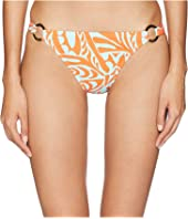 Letarte - Fish Print Full Coverage Bottom with Rings