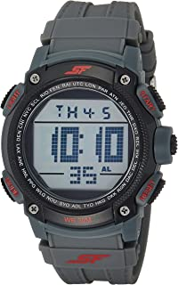 Fibre (SF) Digital Grey Dial Men's Watch-77073PP02